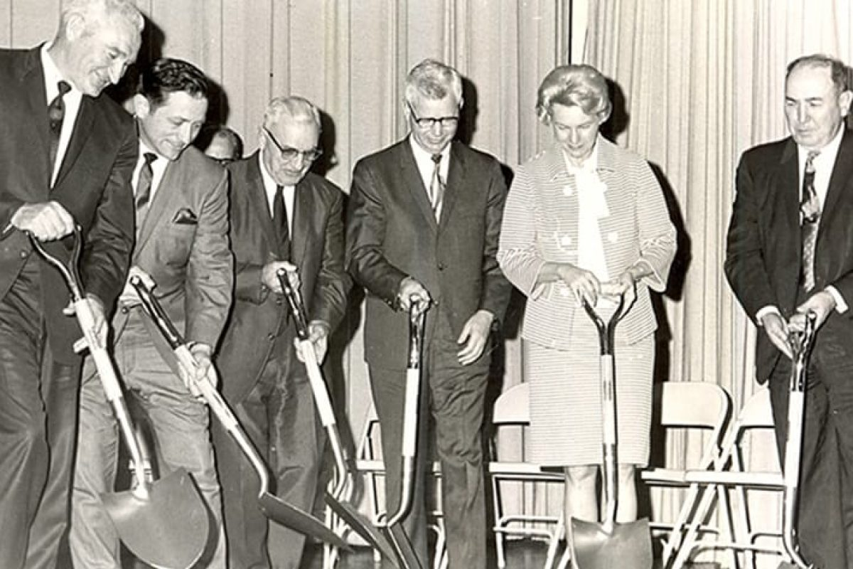 1969 ground breaking of Central Tech in Oklahoma