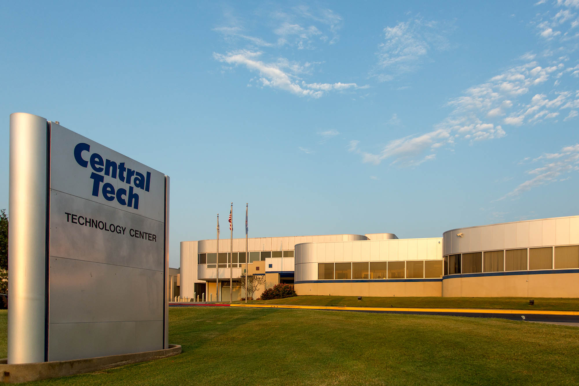 photo of the Central Tech Drumright Oklahoma campus