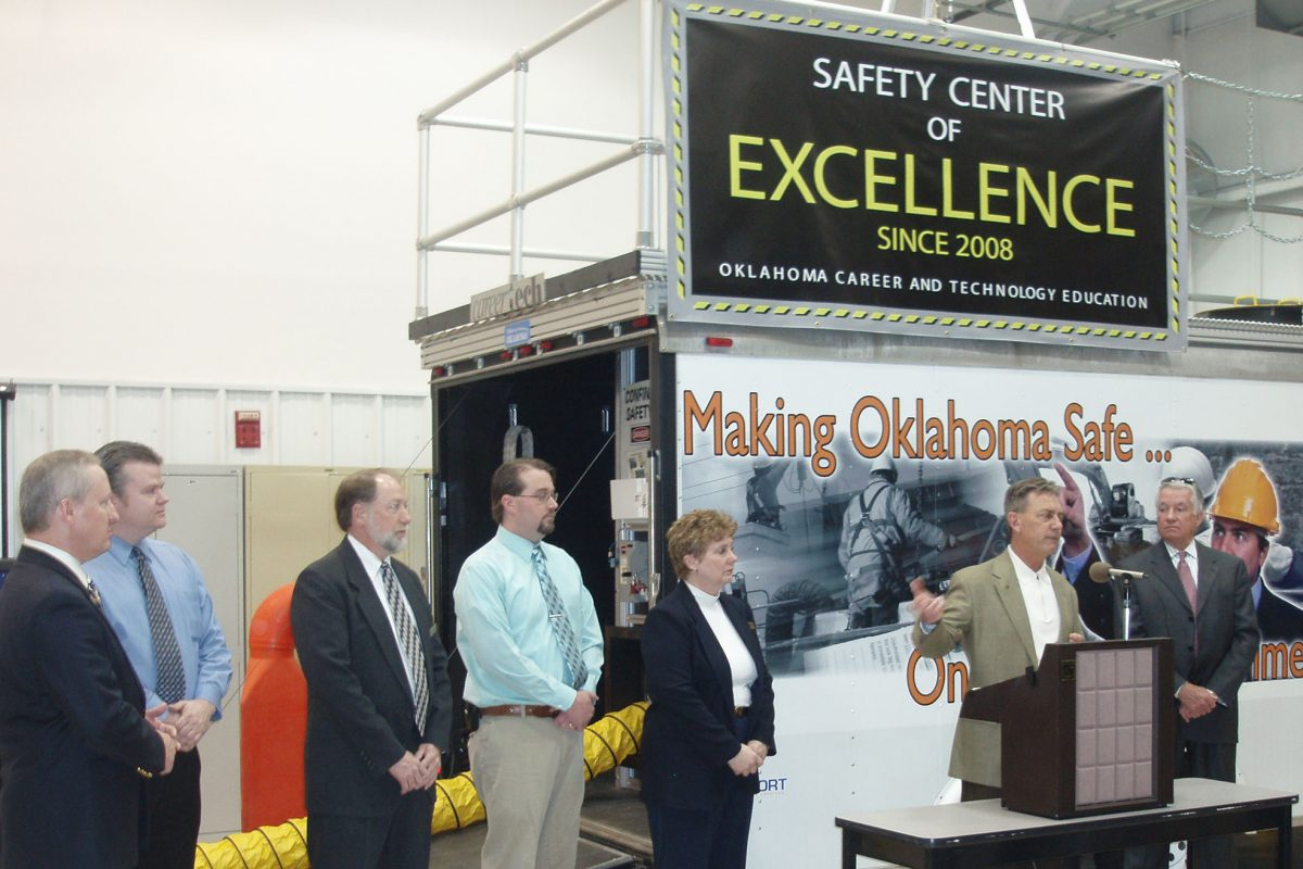 Central Tech recognized as Oklahomas first Safet Center of Excellence