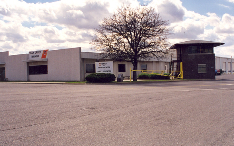 Truck Driver Training facility at Central Tech in 1989