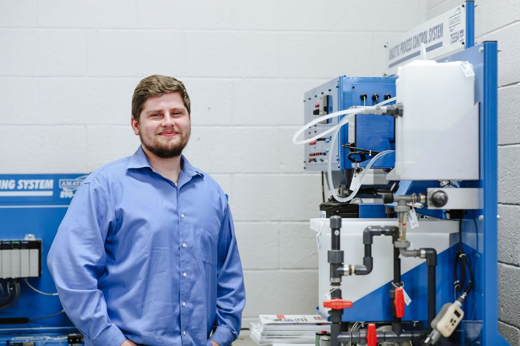 Central Tech ElectroMechanical Systems graduate Blake McLaughlin
