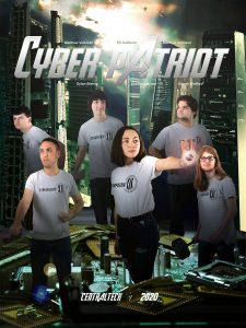 Central Tech's Network Security and Administration photo for CyberPatriot nationals