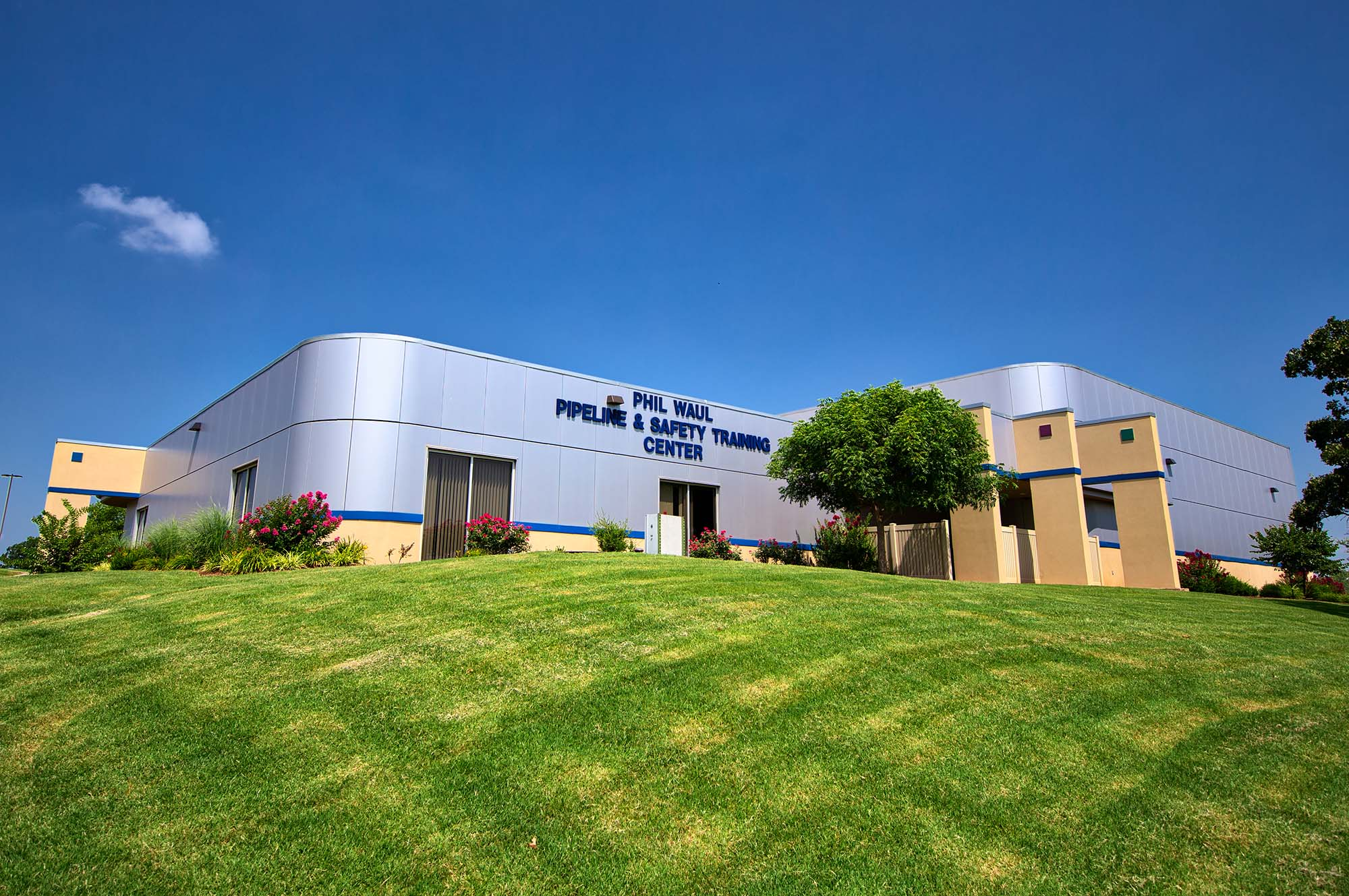 Central Techs Pipeline and Safety Center building in Drumright
